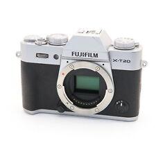 Fujifilm Fuji X-T20 24.3MP Mirrorless Digital Camera Body (Silver) #214