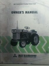 Mitsubishi R1500 Tractor Owner +4 Tiller Parts Manual (5 books)+Sales Ad 110pg
