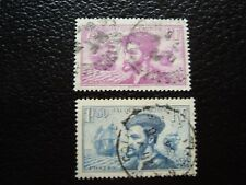 FRANCE - timbre yvert et tellier n° 296 297 obl (A4) stamp french (Y)
