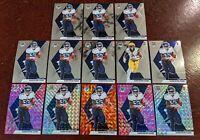 LOT (13) 2020 Mosaic NFL Football Darrynton Evans Silver Pink Orange Variation
