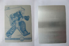 2000-01 Pacific Tommy Salo 1/1 print plate 1 of 1 Edmonton Oilers SWEDEN