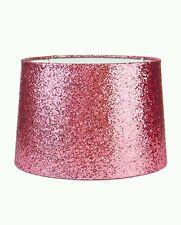 Sparkling Metallic Pink Glitter Ceiling Light Shade Lightshade 28cm NEW *SALE*