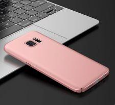 Hard Case für Samsung Galaxy S7 Handy Schutz hülle Cover Bumper RoseGold matt