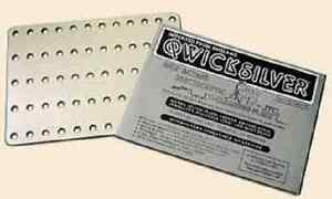 QWICKSILVER SELF ACTING ELECTROLYTIC CLEANING PLATE CLEANS MOST METALS