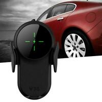 For iPhone 12/11 Pro/XS Max/XR/X Qi Wireless Fast Charger Holder NEW Car D4Y8