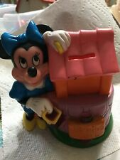 DISNEY Minnie Mouse VINTAGE Bank Wishing Well