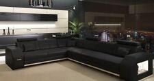 Ecksofa Textil Wohnlandschaft Sofa Elemente Polster Stoffsofa mit Bettfunktion