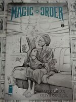 Magic Order (2018) Image - #2, Coipel B/W Variant, Mark Millar/Oliver Coipel, NM
