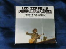 Led Zeppelin Thunder Down Under Empress Valley 4 CD Indoor Farewell Paper Sleeve