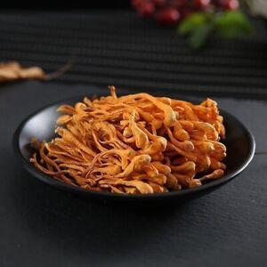 500g Organic Cordyceps Sinensis Dried Mushroom Chinese Tradition Medicine
