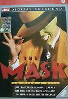 THE MASK - DA ZERO A MITO (1994)  JIM CARREY- DVD EX NOLEGGIO - CECCHI GORI RARO