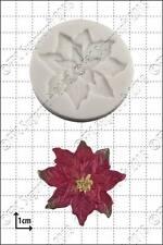 Stampo in silicone Poinsettia | uso alimentare FPC Sugarcraft spedizione gratuita all' interno del Regno Unito!