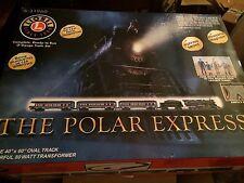 Lionel Polar Express Remote Train Set, O-gauge, 6-31960 W/ Extra Track