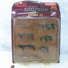 NEW 21st Century VILLAINS SHOTGUN (7) WEAPONS Rifle Machine Gun For GI Joe 1/6