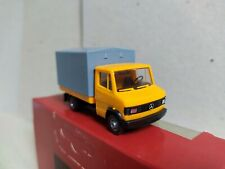 Camión Mercedes-Benz T2  caja-toldo , naranja , Herpa 4014 , escala 1/87