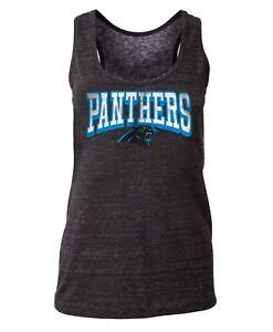 "Carolina Panthers Women's New Era NFL ""Downfield"" Racerback Tank Top Shirt"