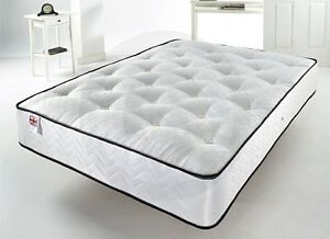 Comfort Support Mattress, with 25 centimetre Deep Spring Memory Foam - Double