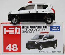 1:56 SCALE #48 TOMICA SUZUKI ALTO POLICE CAR RARE! TAKARA TOMY JAPAN