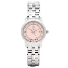 BRAND NEW TORY BURCH TRB1016 SILVER STAINLESS STEEL PINK DIAL WOMEN S WATCH 73be0f5de11a