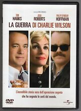 dvd LA GUERRA DI CHARLIE WILSON Tom HANKS Julia ROBERTS P. HOFFMAN
