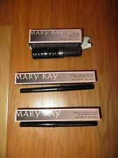 LOT OF 3 MARY KAY EYELINER PENCILS VIOLET INK DEEP BROWN CLEAR BROW GEL NEW