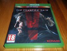 Metal Gear Solid V: The Phantom Pain día, una edición para XBox One