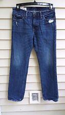 Abercrombie Boys ROLLINS LOW RISE Skinny Blue jeans Denim size 16 100% Cotton