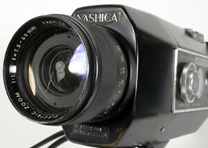 MOVIE CAMERA YASHICA SUPER 800 ELECTRO RUNS AS IS