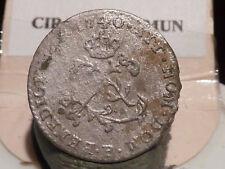 CIRA(7) (29) - LOUIS XV - DOUBLE SOL de BILLON - 1740 SUR 1739 B - RARE !