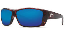 Costa AT10OBMGLP Cat Cay Sunglasses 580g Blue Mirror Lens Tortoise Frame!