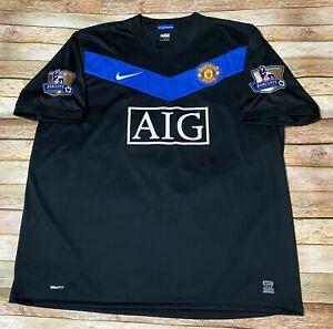 Nike MANCHESTER UNITED Jersey DIMITAR BERBATOV 2010 2011 Third Shirt Soccer 2XL