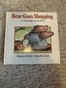Bear Goes Shopping: A Guessing-Game Story (Guess... by Zeifert, Harriet Hardback