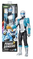 "Power Rangers Beast Morphers Silver Ranger 12"" Figure Mint in Box"
