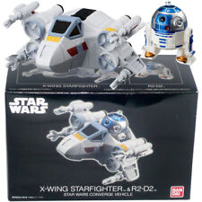 BANDAI Star Wars CONVERGE Vehicle X-wing Starfighter & R2-D2 Boxset Figure