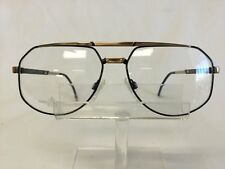 Vintage Euroline Exclusive DEVIN Eyeglasses Sunglasses Black Gold NEW