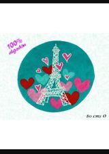 New  Girls Paris Eiffel Tower Rug Mat 1 PC