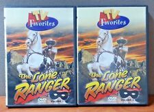 T.V. Favorites: The Lone Ranger   Vol 1 and 2    DVD's  LIKE NEW