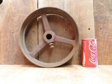 """Antique Hit & Miss Gas Steam Engine Line Shaft Flat Belt Pulley 10.75"""" x 2.75"""""""