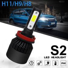 H11 CREE LED Headlight 72W 10800LM H8 H9 Single Beam COB White 6000K Fog light