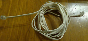 3M Telephone Phone Cable Cord RJ11 Plug Extension ADSL2 Modem Fax