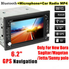 HD 6.2'' Double 2Din In Dash Car Stereo DVD Player GPS Navigation BT Radio