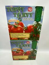 Lot (2) Topsy Turvy Upside Down Tomato Planter As Seen On TV Brand New Sealed
