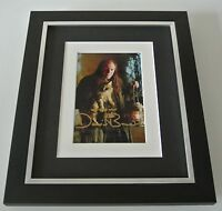 David Bradley SIGNED 10x8 FRAMED Photo Autograph Display Harry Potter Film COA