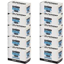 10 Rolls Ilford Delta 100 Pro Black & White 35mm Print Film 36 Exposure, 1780624