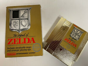 The Legend of Zelda Gold Edition | Nintendo NES Tested Good Working Condition.