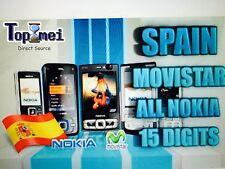 Liberar NOKIA MOVISTAR ESPAÑA! UNLOCK OFICIAL! TODOS LOS MODELOS!!URGENTE!!!