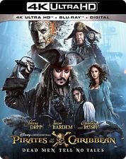 Pirates of the Caribbean Dead Men Tell No Tales 4K Ultra HD Blu-ray Digital Copy