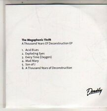 (DB937) The Megaphonic Thrift, A Thousand Years of Deconstruction - DJ CD