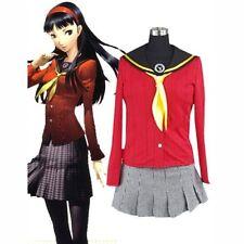 Shin Megami Tensei Persona 4 Rise Yukiko Amagi  Cosplay Costume girl uniform