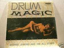 GEORGE JENKINS & PLAS JOHNSON Drum Magic SEALED LP
